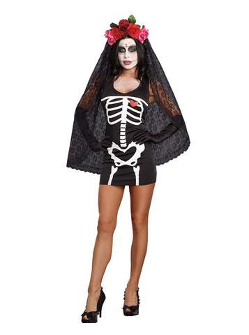 new style corpse bride black polyester halloween cosplay costume