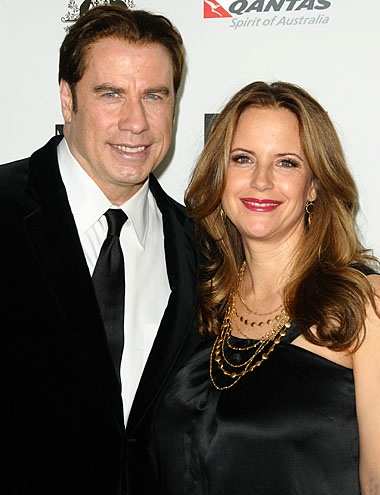 JOHN TRAVOLTA & KELLY PRESTON. Travolta and Preston are still flying high after marrying — twice! — in 1991.