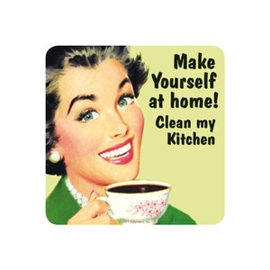 Make Yourself Home Coaster 6Pk now featured on Fab.