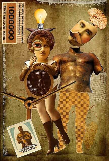 Money Worries - Hannah Hoch (dadaísmo berlinense)