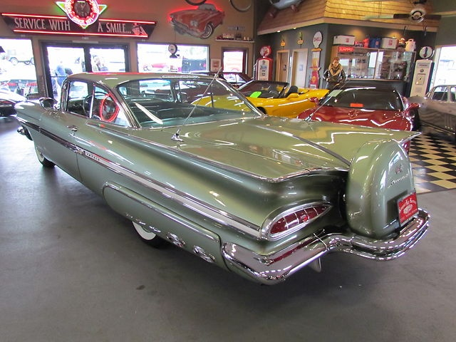 1959 Chevy Impala Maintenance/restoration of old/vintage vehicles: the material for new cogs/casters/gears/pads could be cast polyamide which I (Cast polyamide) can produce. My contact: tatjana.alic@windowslive.com