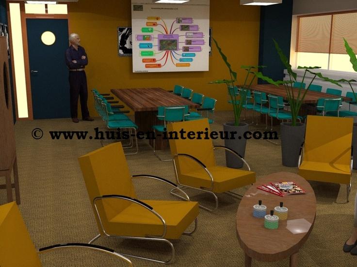 "Winning Interior Design meeting space ""The Loft"" Seats2meet Utrecht, made by Huis & Interieur and Marcella Vermeer"