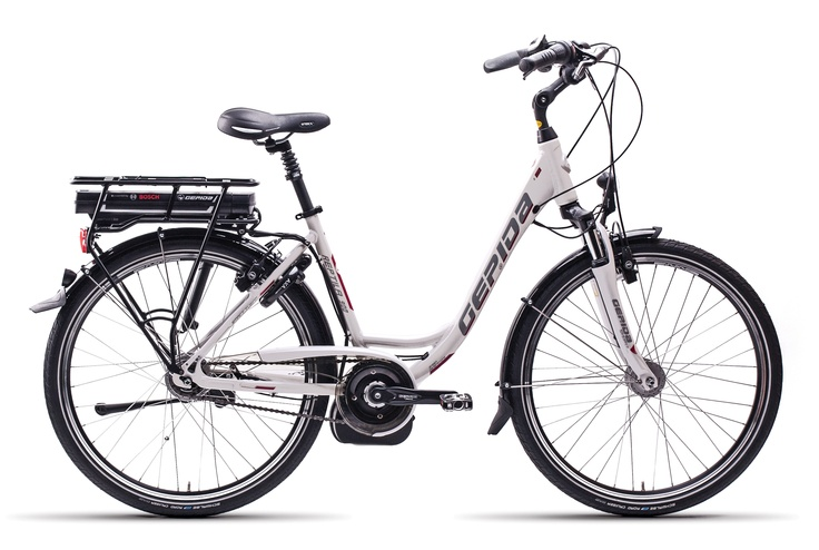 Gepida Electric Bicycles - Reptilla 900 with the Bosch power system