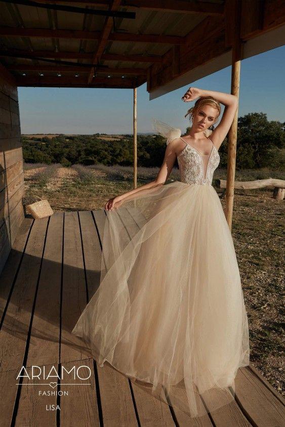 f067f6d0 Foretrukne Vintage brudekjole fra weddingdeluxe.dk #brudekjoler #vintage  FD79