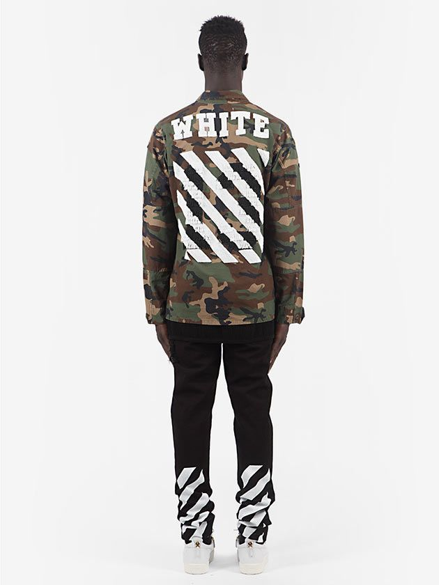 I like the piece because off white clothing is always high quality and has very nice designs.