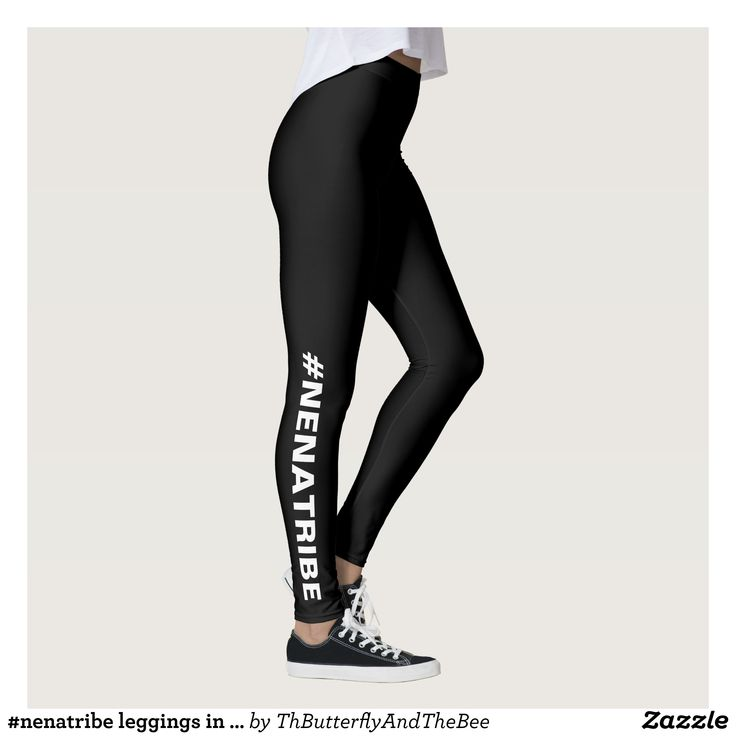 #nenatribe leggings in BL/W - Printed #Yoga #Leggings & Running Tights Creative Workout and #Gym #Fashion Designs From International Artists - #pilates #exercise #crossfit #workout #tights #running #sports #design #fashiondesign #designer #fashiondesigner #style #pants