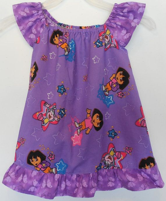 Baby and Toddler Girls Dora The Explorer and by YourAngelsAvenue, $24.99