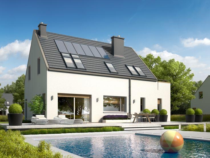 DOM.PL™ - Projekt domu AC Oskar ENERGO CE - DOM AF6-29 - gotowy projekt domu