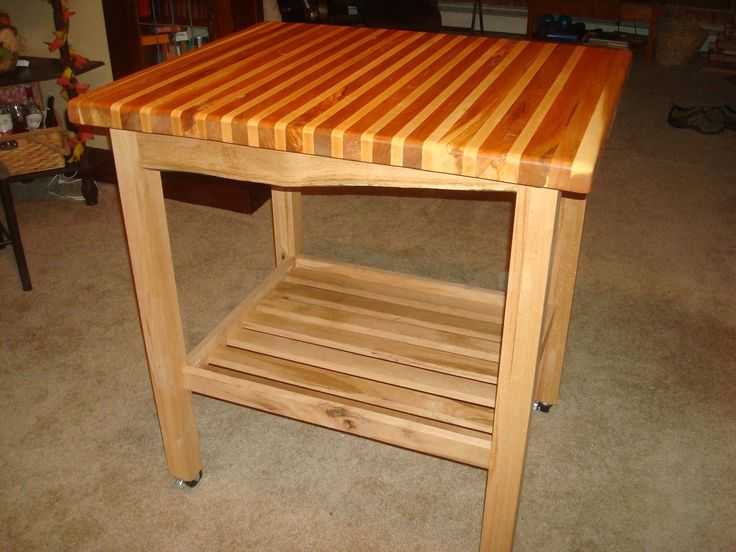 Round Kitchen Cart Butcher Block : 10 best Living in the round part deux images on Pinterest Butcher blocks, For the home and ...