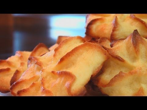 Печенье из творога и миндаля видео рецепт