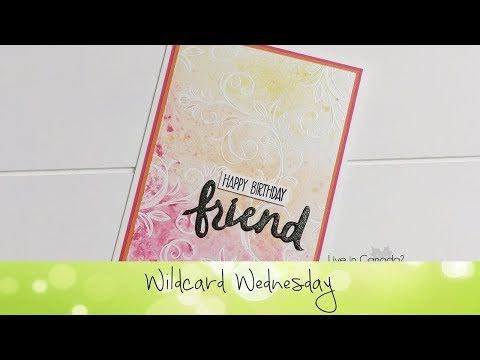 Falling Flowers Card featuring Stampin' Up!® Products - YouTube