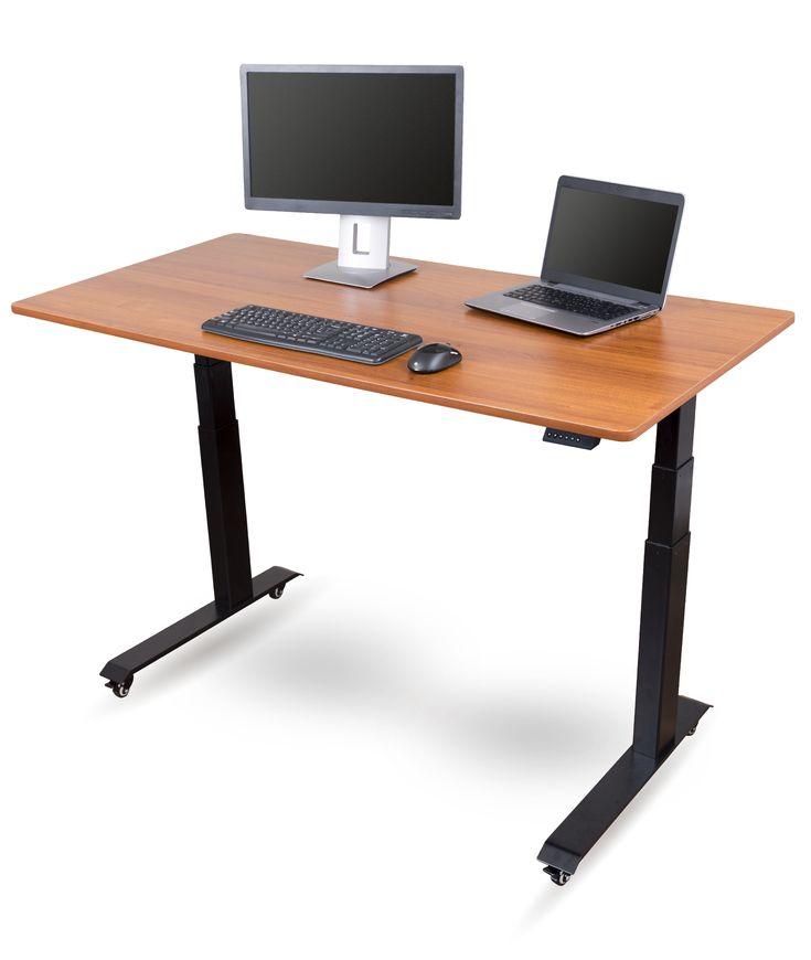8 best electric adjustable standing desks images on pinterest electric standing desk music. Black Bedroom Furniture Sets. Home Design Ideas