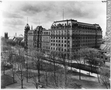 VIEW-4890.2 | Windsor Hotel and extension, Peel Street, Montreal, QC, 1906