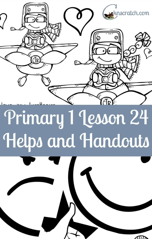 So thankful for this post- LDS lesson helps for Primary 1