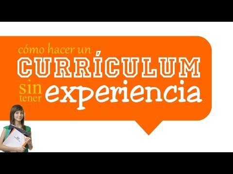 como hacer un currículum sin tener experiencia | 5 consejos en 2 minutos - YouTube
