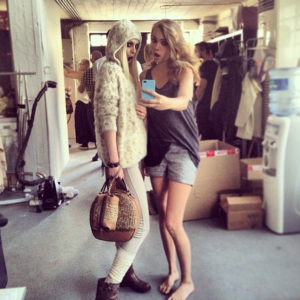 Backstage from fall winter 2013!stay tuned!! #doca #fashion #style #bag #shoes #accessories #bestoftheday #now #model #photoshoot #lookbook #backstage #fall #winter #campaign #iphonesia #iphoneonly #woman #outfit #instalove #greece