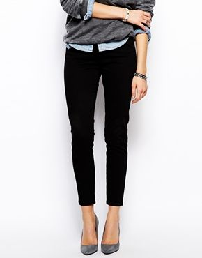 Enlarge ASOS Ankle Grazer Skinny Trousers