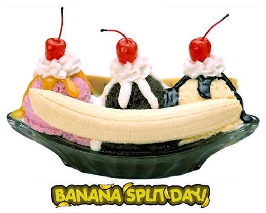 National Banana Split Day - August 25th Today is National Banana Split ...