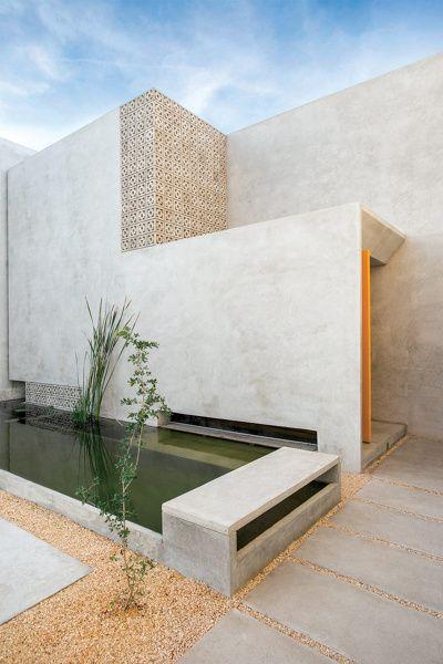 Las 25 mejores ideas sobre casas contempor neas en - Microcemento en mexico ...