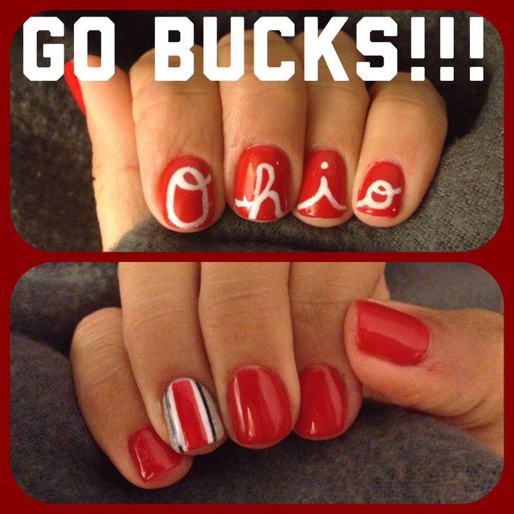 OSU Buckeye Nails!