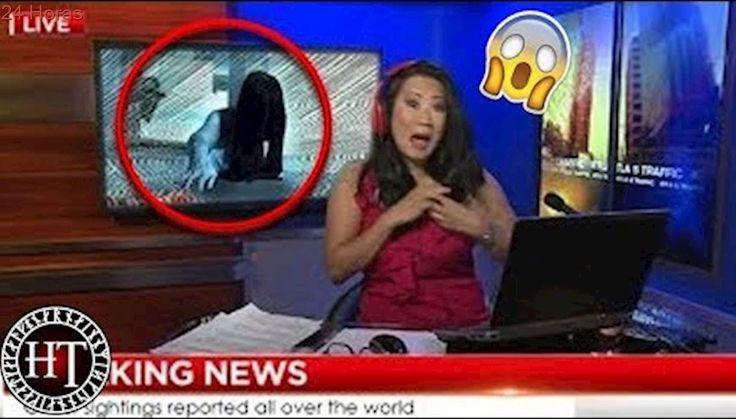 15 fantasmas captados en TV en VIVO y por cámaras de vigilancia.