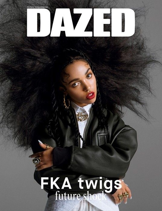 FKA Twigs gets 18-page cover feature in Dazed &...