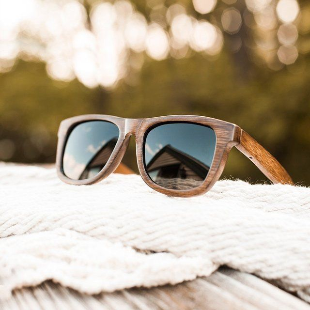 Fancy - Bamboo Wayfarer Sunglasses by Shades of Bamboo