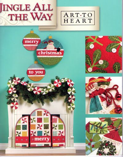 Art to Heart Jingle All The Way - rosotali roso - Picasa Web Albums...FREE BOOK!!