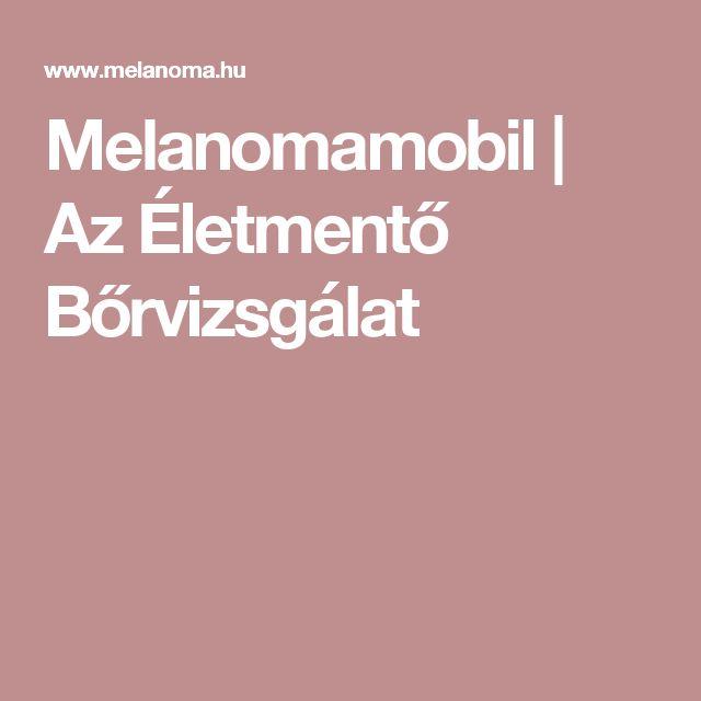 Melanomamobil | Az Életmentő Bőrvizsgálat