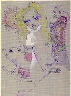 グリム童話 カエルの王さま あるいは鉄のハインリヒ(江國香織 著、 宇野亜喜良 画) - 古本 風信子