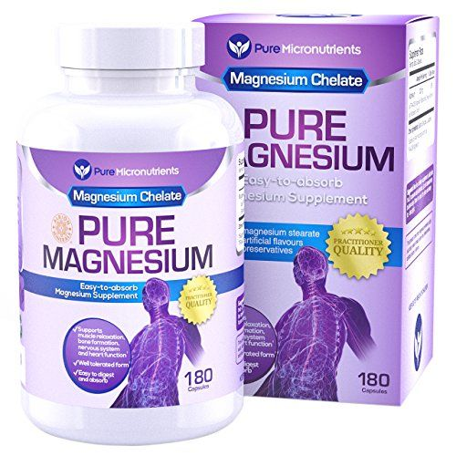 Practitioner Quality Premium Chelated Magnesium supplement in an easy to swallow capsule that is gentle on the stomach. Magnesium chelate (Magnesium Glycinate) is clinically proven to be a highly absorbable and tolerable form of Magnesium. Available from http://agelesspills.com/