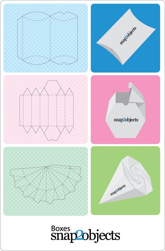 Here is another amazing post with 3 box templates ready to use in your packaging projects. In the next posts I will give u at least 2 ideas of origami like boxes (off course no glue needed) Meanwhi…