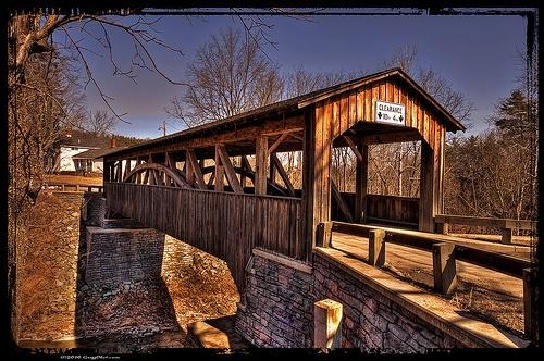 Knapp's/Luther's Mill Covered Bridge, Bradford County