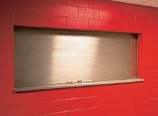 The 641model fire-rated counter door is ideal for applications including factories, schools, concessions, hospitals, cafeterias and retail settings. Standard labels available include a 3 hour UL Class A label for masonry applications, or a 1-1/2 hour UL Class B label for non-masonry fire walls