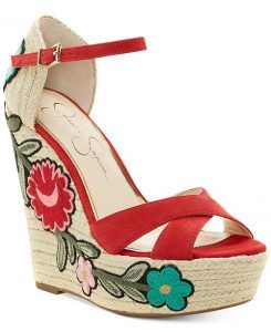 61c078282fb Casual   Pretty Jessica Simpson Wedge Sandals For Summer