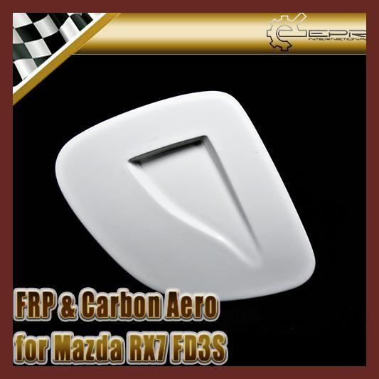 EPR Car Styling For Mazda RX7 FD3S FRP Fiber Glass Type 2 Vented Headlight Covers RHS Fiberglass Head Light Accessories Racing