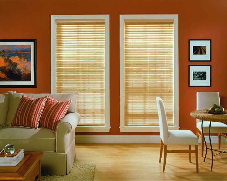 Faux Wood Blinds Elegant And Energy Efficient