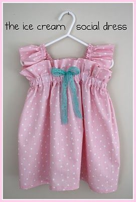 This was made for a 2-year old: Little Dresses, Little Girls, Dress Tutorials, Dresses Tutorials, Ice Cream Social, Girls Dresses, Easy Dress, Baby, Social Dresses