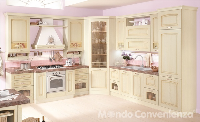 Serena cucine classico mondo convenienza mio stile for Mondo convenienza cucine in muratura