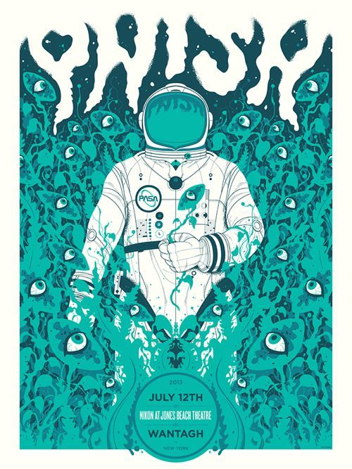 35 Stunning Gig Poster Designs | From up North ilustracion illustration