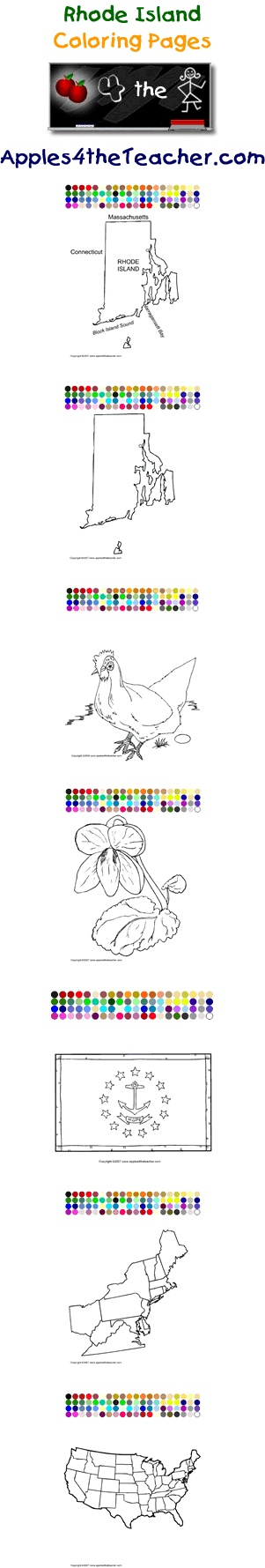 Printable interactive U.S. State coloring pages, Rhode Island coloring pages for kids  http://www.apples4theteacher.com/coloring-pages/usa/rhode-island/