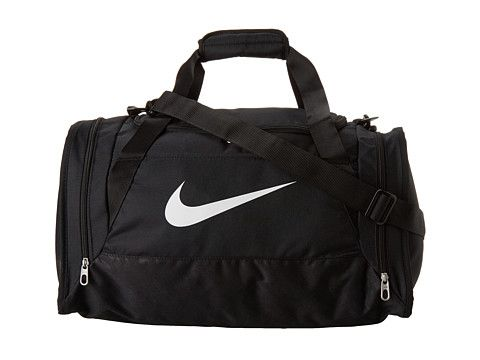 Nike Brasilia 6 Small Duffel Black/Black/White Multi Snake - Zappos.com Free Shipping BOTH Ways