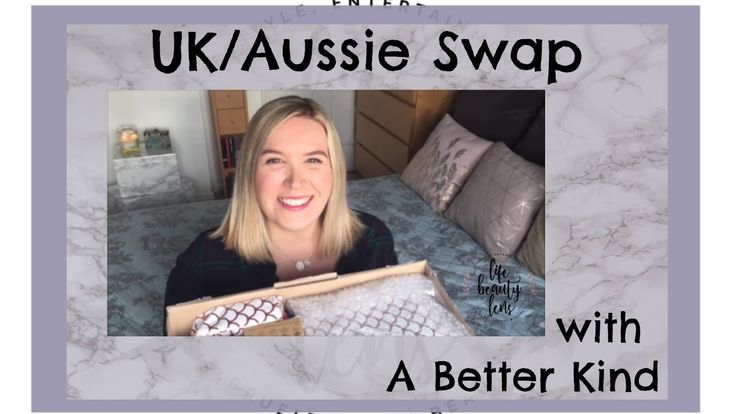 I did a swap with Cruelty-free lifestyle and beauty blogger @abetterkind from Australia!