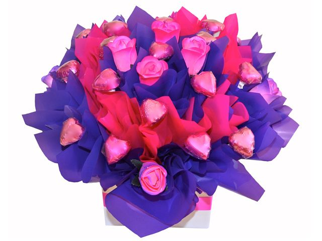 Pretty in Pink, Chocolate Bouquet
