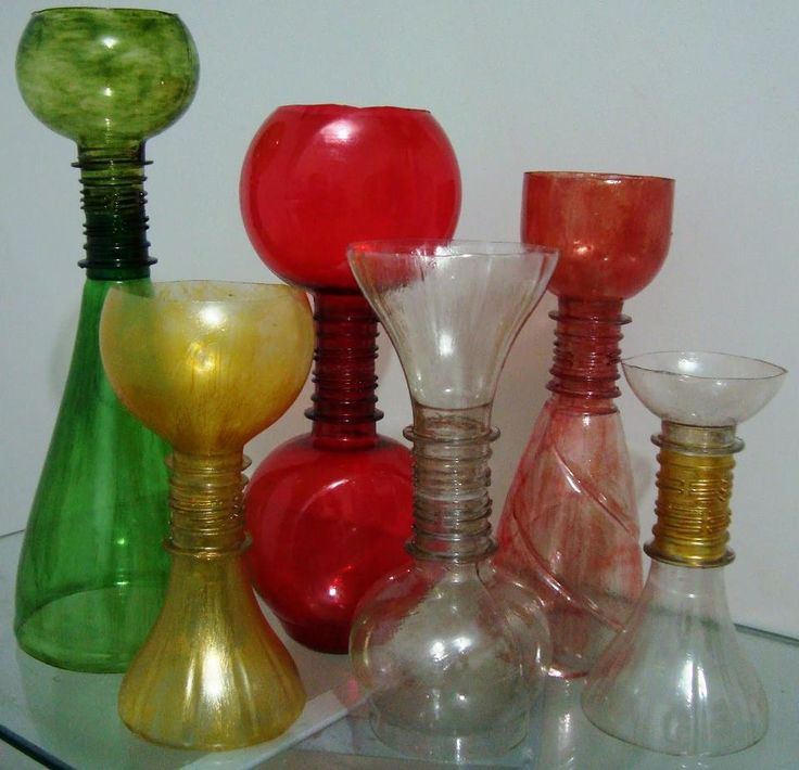 67 best reciclando images on pinterest creative ideas for Best way to sand glass bottles