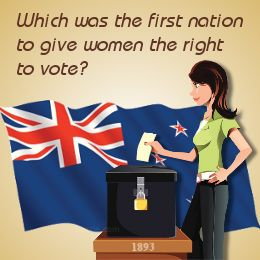 Trivia questions - electoral rights for women