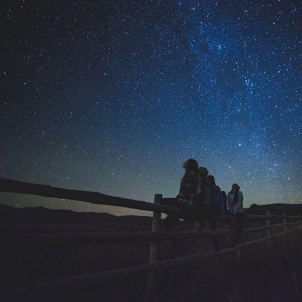 Resultado de imagen para mirar al cielo estrellado