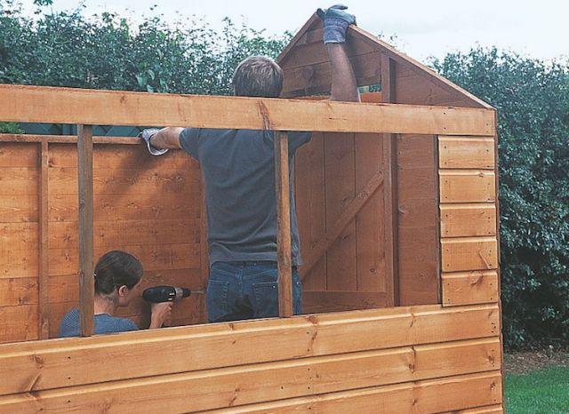 25 best ideas about abri jardin bois on pinterest abris for Construire son abri de jardin