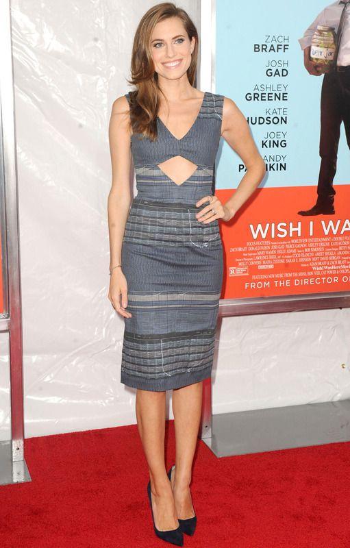 Allison Williams, elegante y sexy de Altuzarra