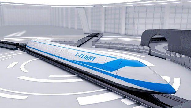 China pretende construir un tren tres veces más rápido que Hyperloop